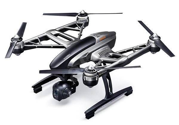 YUNEEC Q500 4K, Steady Grip, 2× akumulátor, kufor - Dron
