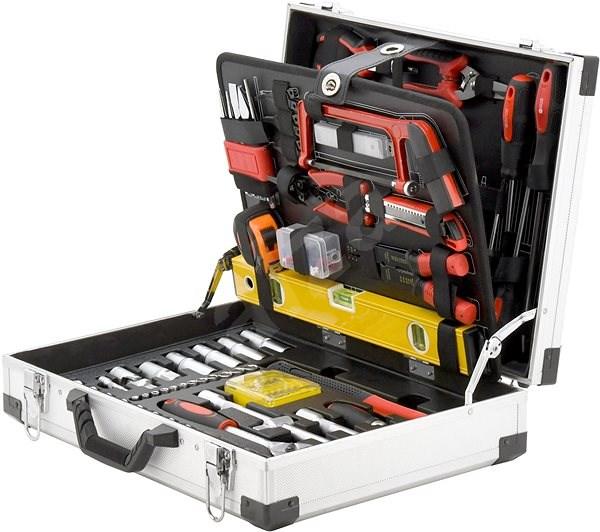 Compass Tool case 139 parts, ALU PROFI - Sada náradia