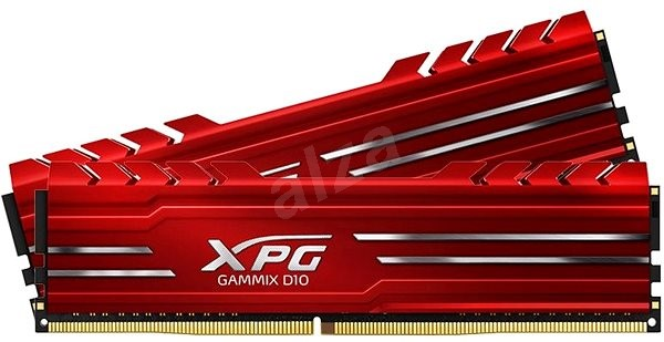 ADATA 16 GB DDR4 3000 MHz CL16 XPG GAMMIX D10, červená - Operačná pamäť