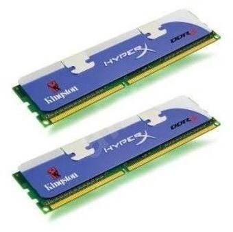 Kingston 4GB KIT DDR3 1866MHz HyperX XMP CL9 - Operační paměť
