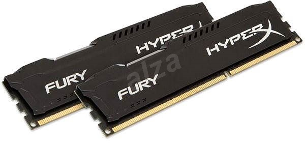 HyperX 16GB KIT DDR3 1600MHz CL10 Fury Black Series - Operačná pamäť