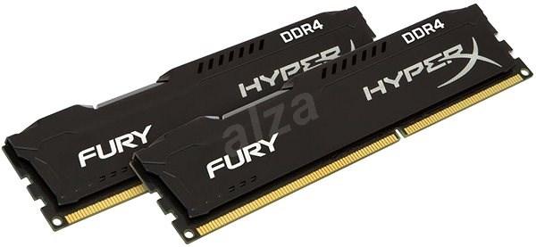 HyperX 16 GB KIT DDR4 2933 MHz CL17 Fury Black Series - Operačná pamäť