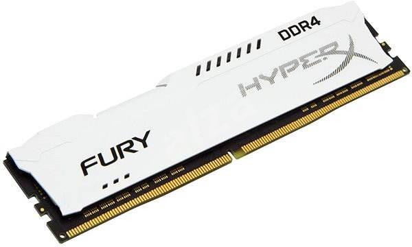 HyperX 8GB DDR4 2400MHz CL15 Fury White Series - Operačná pamäť