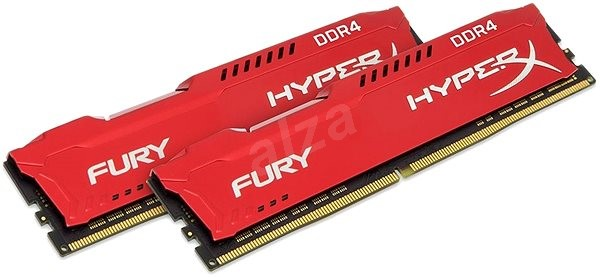 HyperX 16GB KIT DDR4 2400MHz CL15 Fury Red Series - Operačná pamäť