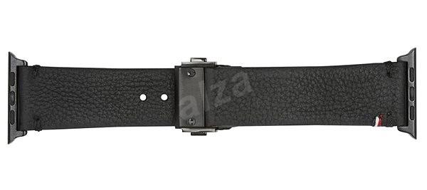 Decoded Leather Strap Black Apple Watch 1,2 (42 mm) - Remienok