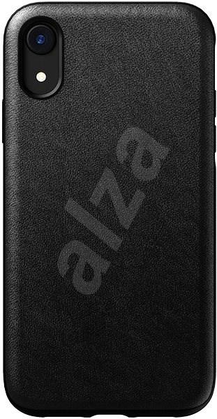 Nomad Rugged Leather Case Black iPhone XR - Kryt na mobil