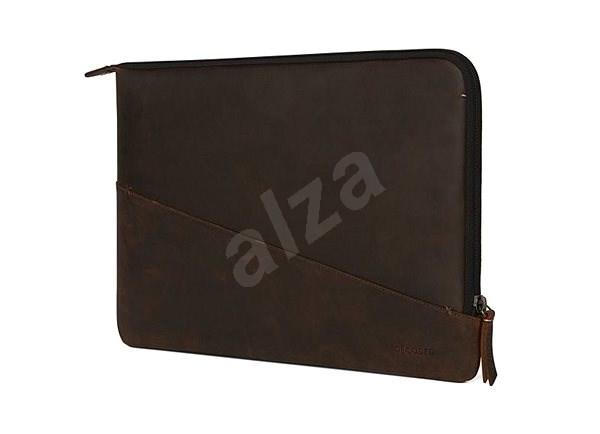 "Decoded Waxed Slim Sleeve Brown MacBook Pro 13"" - Puzdro na notebook"