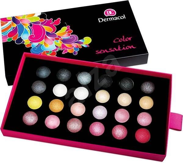 DERMACOL Color Sensation Wet & Dry č.4 24× 0,5 g - Očné tiene