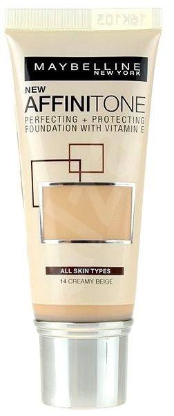 MAYBELLINE NEW YORK Affinitone 14 Creamy Beige 30 ml - Make up