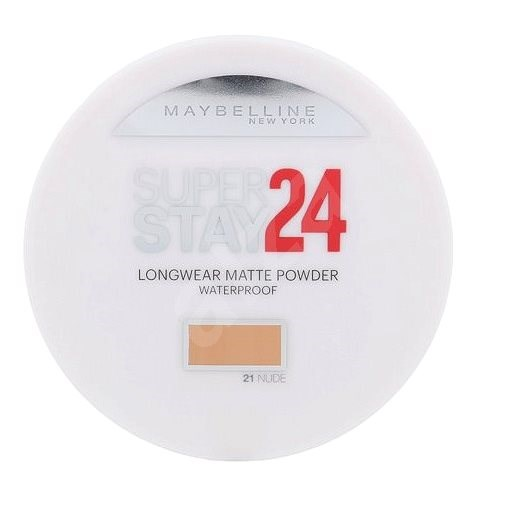 MAYBELLINE NEW YORK Superstay 24h Long-Lasting 021 Nude 9 g - Púder