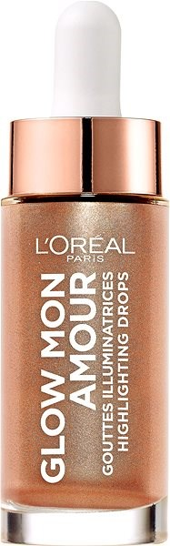 ĽORÉAL PARIS Wake Up & Glow Mon Amour Highlighting Drops 02 Bellini 15 ml - Rozjasňovač