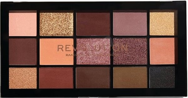 REVOLUTION Re-Loaded Velvet Rose - Paletka očných tieňov
