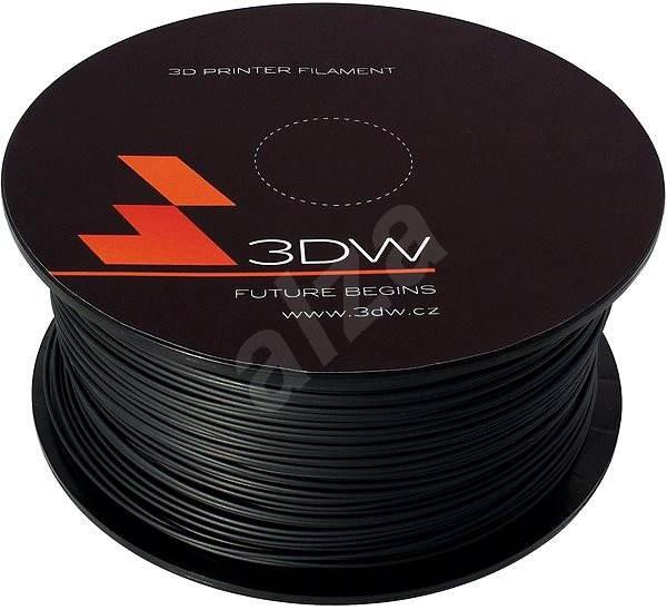 3D World PLA 1.75 mm, 1 kg, čierna - Filament