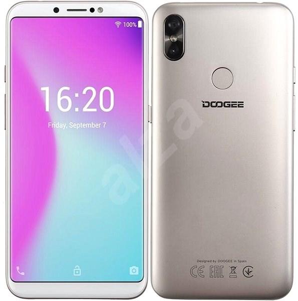 Doogee X80 Dual SIM zlatý - Mobilný telefón