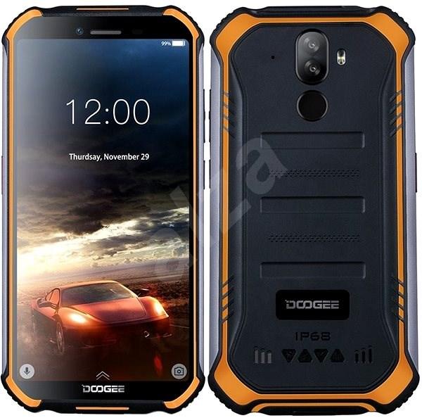 Doogee S40 32GB oranžová - Mobilný telefón