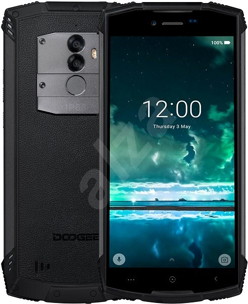 Doogee S55 čierna - Mobilný telefón