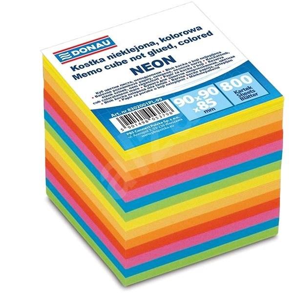 DONAU 90x90x90 mm farebné - Papierové bločky