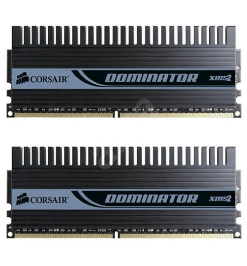 Corsair 4GB KIT DDR2 1066MHz CL5-5-5-15 XMS2 DOMINATOR DHX EPP - Operační paměť