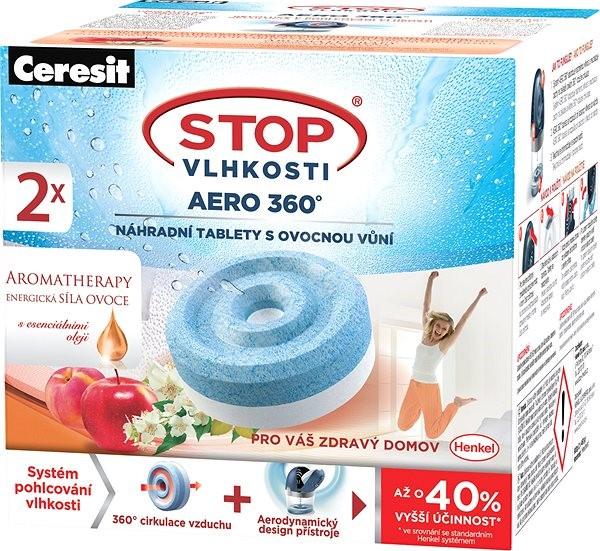 CERESIT STOP Vlhkosti Aero 360° AROMATHERAPY energické ovocie 2x 450 g - Pohlcovač vlhkosti