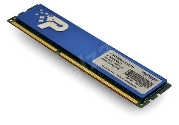 Patriot 4GB DDR3 1333MHz CL9 Signature Line s chladičom - Operačná pamäť