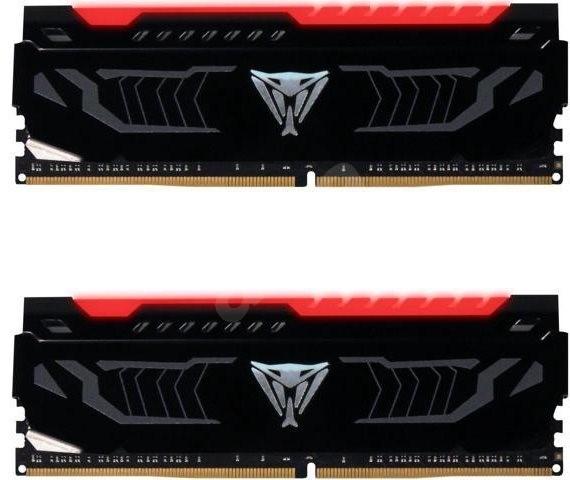 Patriot Viper LED Series 16 GB KIT DDR4 3000 MHz CL15 DDR4 RED - Operačná pamäť