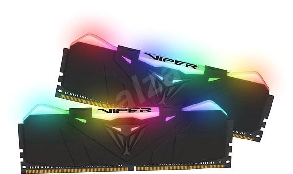 Patriot Viper RGB Black 16 GB DDR4 3600 MHz CL18 - Operačná pamäť
