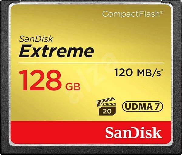 Sandisk Compact Flash 128 GB Extreme - Pamäťová karta