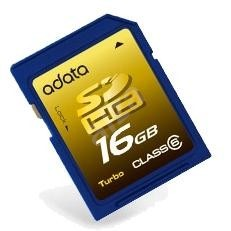 ADATA SDHC 16GB Class 6 - Paměťová karta