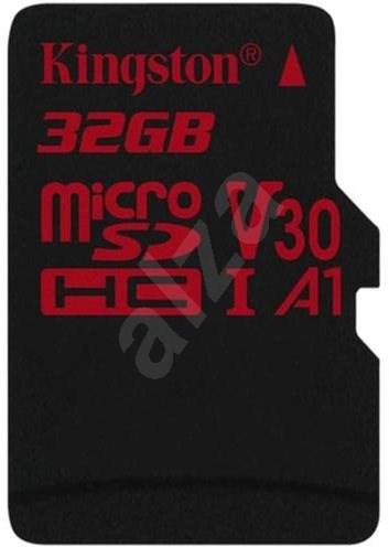 Kingston Canvas React microSDHC 32 GB A1 UHS-I V30 - Pamäťová karta