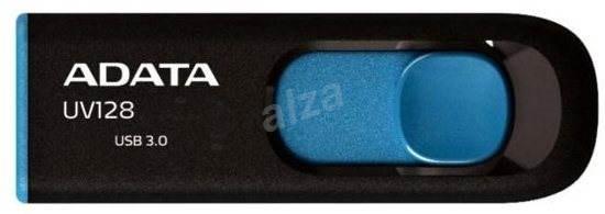 ADATA UV128 16 GB čierno-modrý - USB kľúč