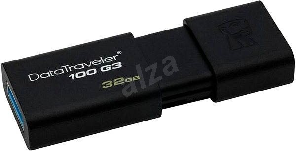 Kingston DataTraveler 100 G3 32GB čierny - USB kľúč