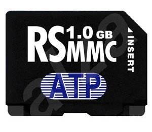 ATP MMC Reduced Size MultiMedia Card 1GB - odolná proti vodě, prachu, extrémním teplotám - Paměťová karta