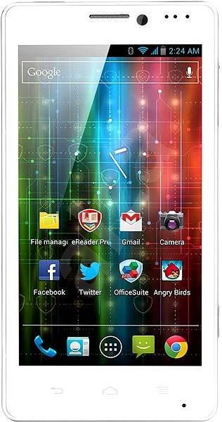 Prestigio MultiPhone 5430 biely - Mobilný telefón