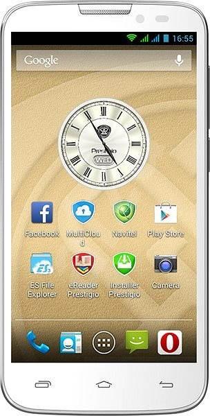 Prestigio MultiPhone 5517 DUO biely - Mobilný telefón