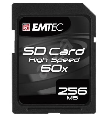 EMTEC Secure Digital 256MB High Speed 60x - Pamäťová karta