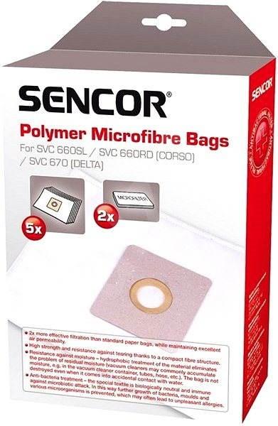 Sencor SVC 660/670 - Vrecká do vysávača