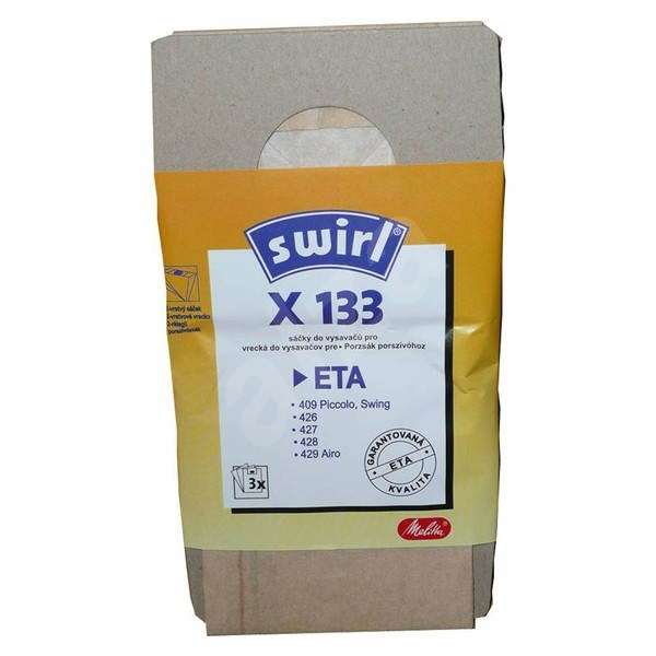 SWIRL X133/3 papír - Sáčky do vysavače