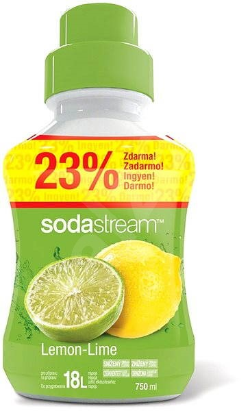 SodaStream Citron limeta - Príchuť