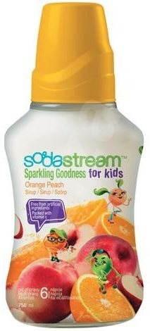 SodaStream Goodness – Detský Pomaranč Broskyňa 750 ml - Príchuť