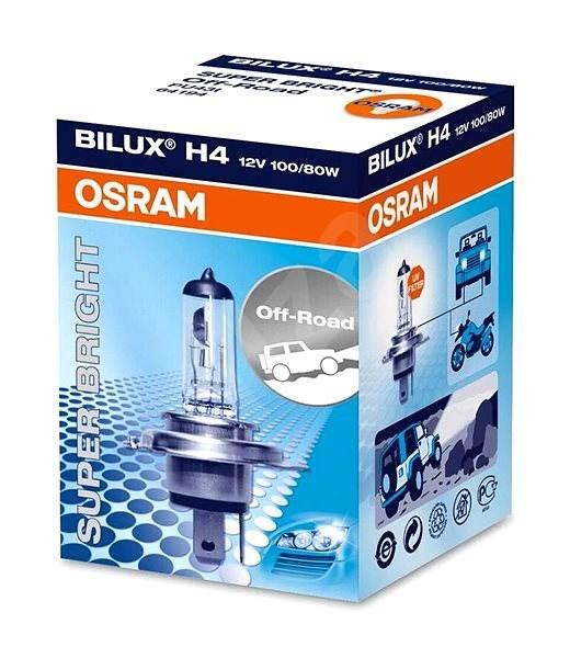 OSRAM Super Bright Premium, 12 V, 100 W, P43t - Autožiarovka