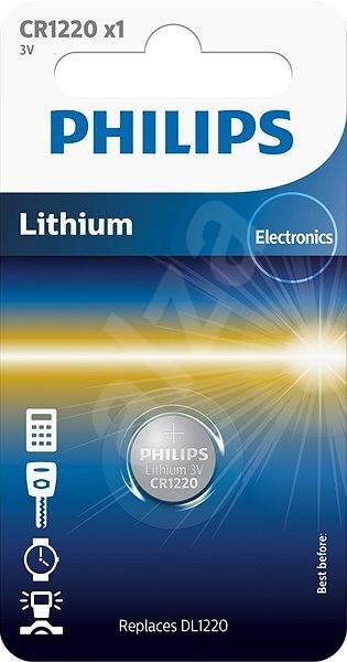 Philips CR1220 1 ks v balení - Gombíkové batérie