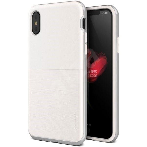 Verus High Pro Shield pre iPhone X – White   Silver - Ochranný kryt ... 0a9a468d216