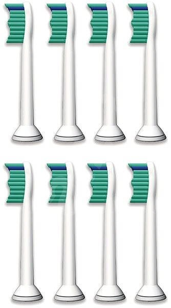 Philips Sonicare HX6018/07 ProResults štandardné hlavice, 8 ks v balení - Náhradný nadstavec pre zubné kefky