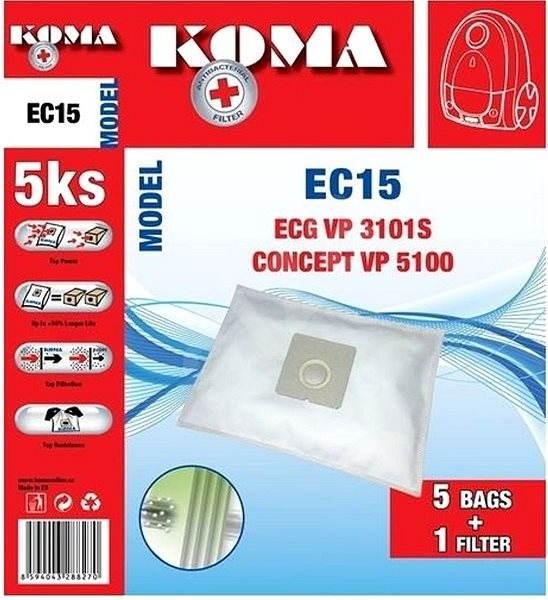 076d11a39 Koma ECG VP 3101S SMS - Vrecká do vysávača   Alza.sk