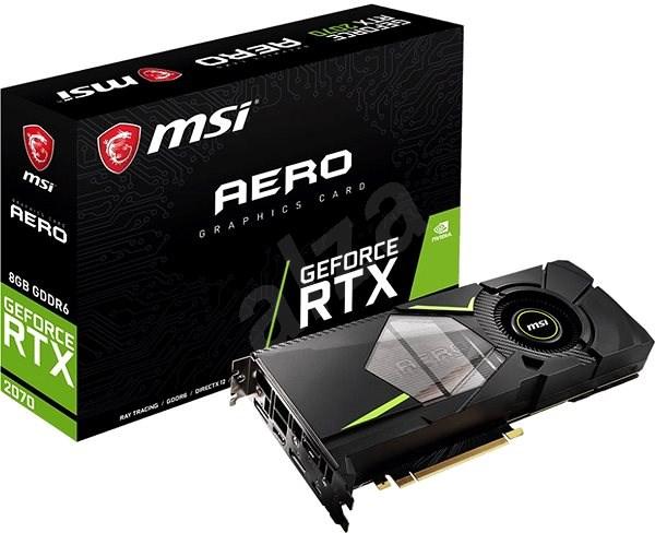 MSI GeForce RTX 2070 AERO 8 G - Grafická karta