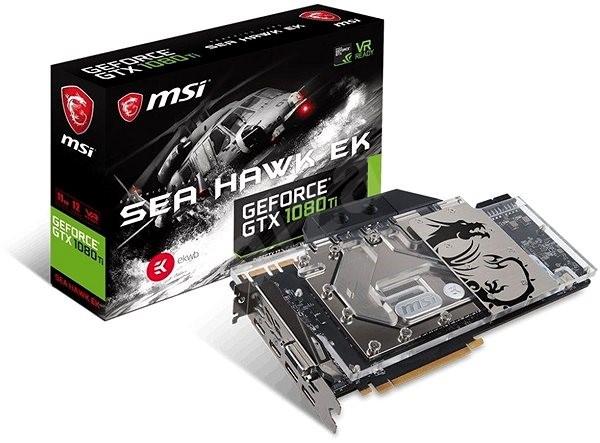 MSI GeForce GTX 1080 Ti SEA HAWK EK X - Grafická karta