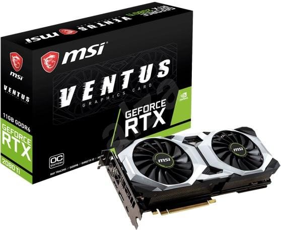 MSI GeForce RTX 2080Ti VENTUS 11G - Grafická karta