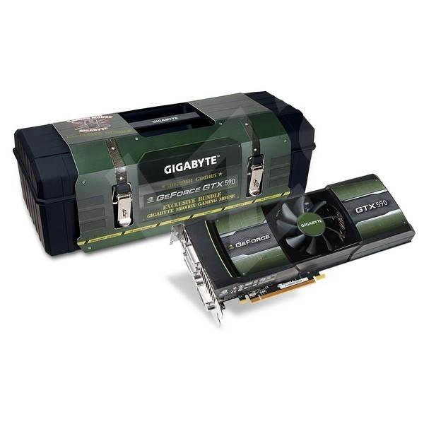 GIGABYTE N590D5-3GD-B Premium Packaging - Grafická karta