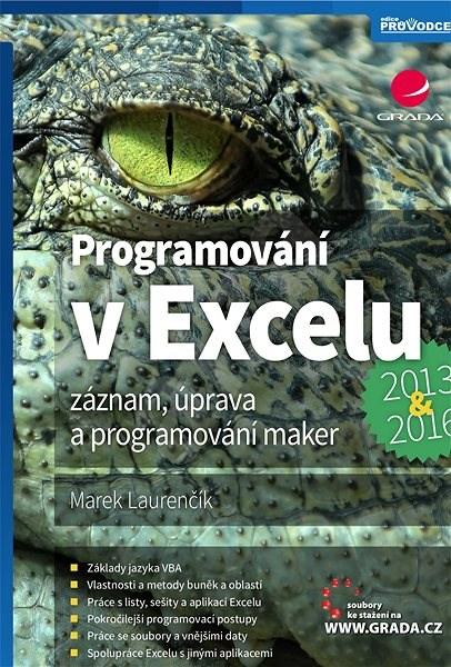 Programování v Excelu 2013 a 2016 - Marek Laurenčík