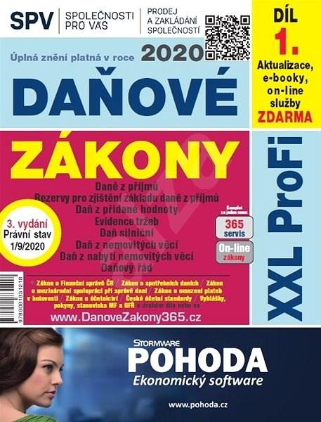 Daňové zákony 2020 ČR XXL ProFi (díl první, vydání 3.1) - autorov kolektív